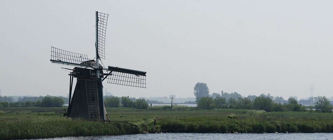 molen in Noord-Holland